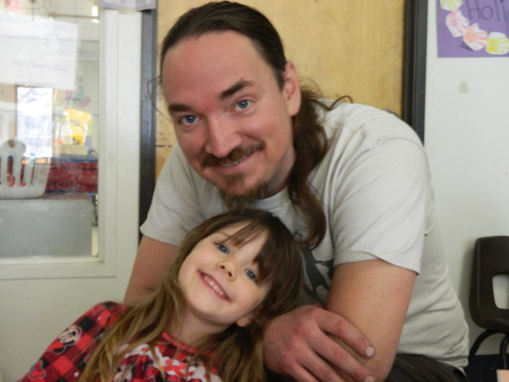 Aspen and dad